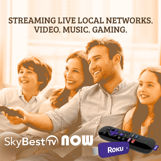 SkyBest TV Now with Roku. Click here to find out more.