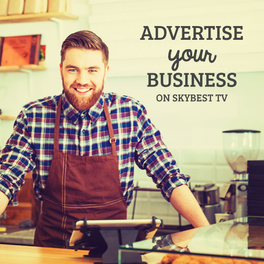 Click here to find out more about advertising your busines on SkyBest TV.