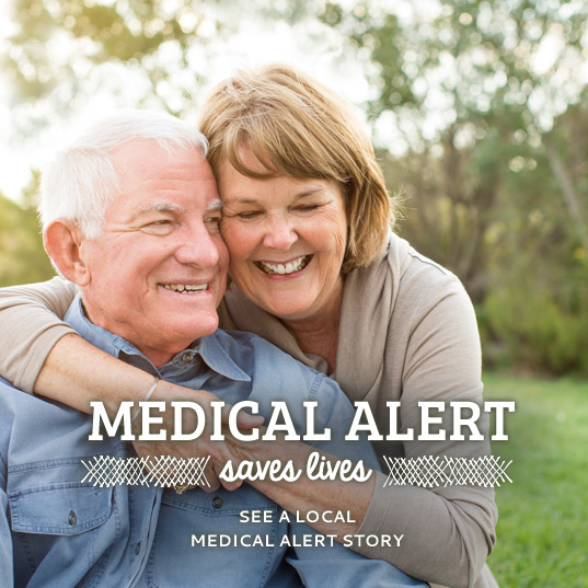 Medical Alert saves lives. Click here to see a local medical alert story.