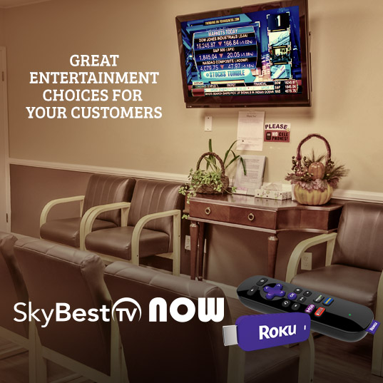 Click here to find out more about SkyBest TV Now with Roku.