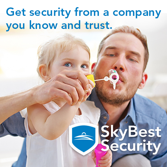 Get security from a company you  know and trust.