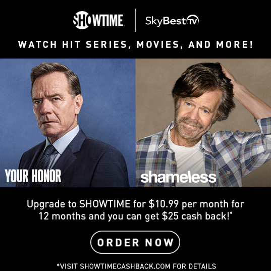 Upgrade to Showtime!